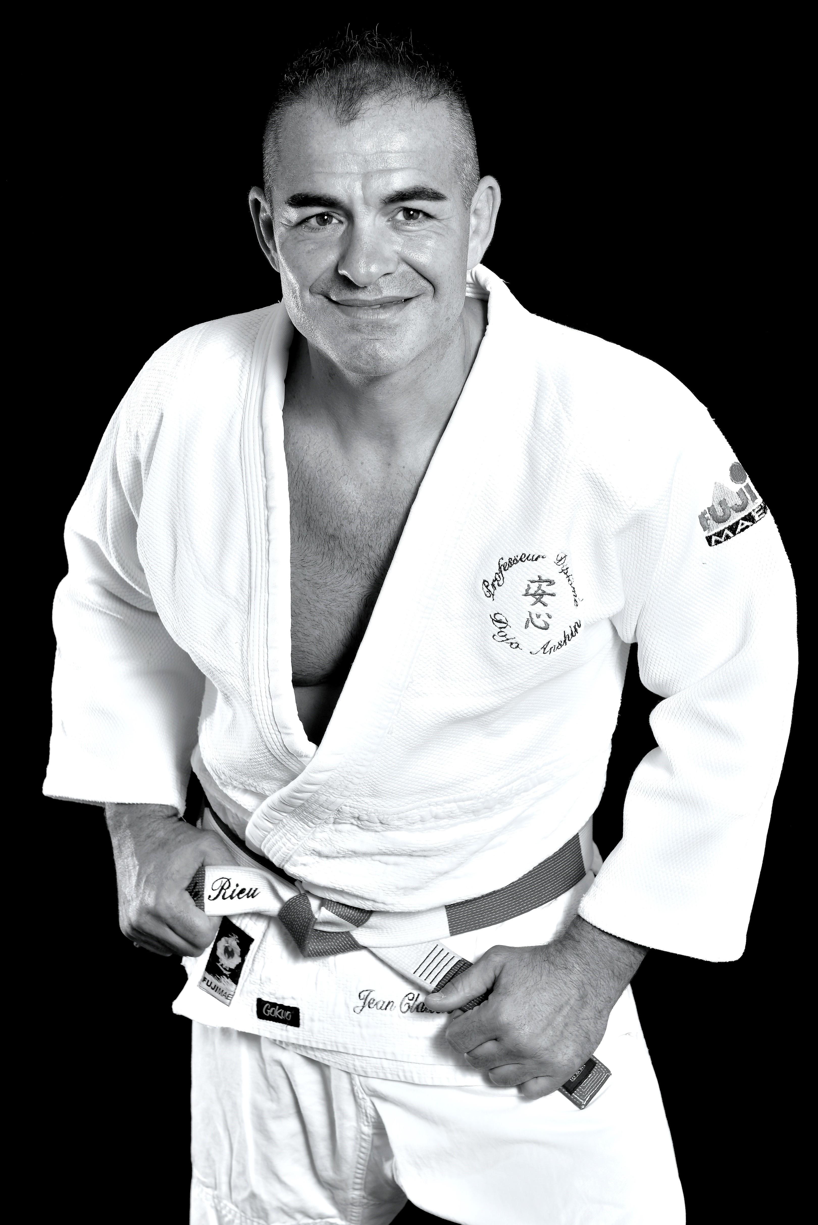 Jean Claude Rieu , 6eme Dan de Judo Jujitsu